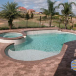 Nice Sealed Pavers Surrounding Inground Pool