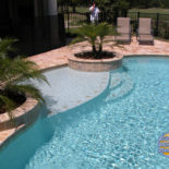 Inground Pool Tile Inlay