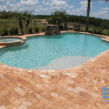 Large Oval and Round Pool Design