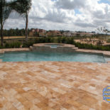 Large Patio Custom Pool